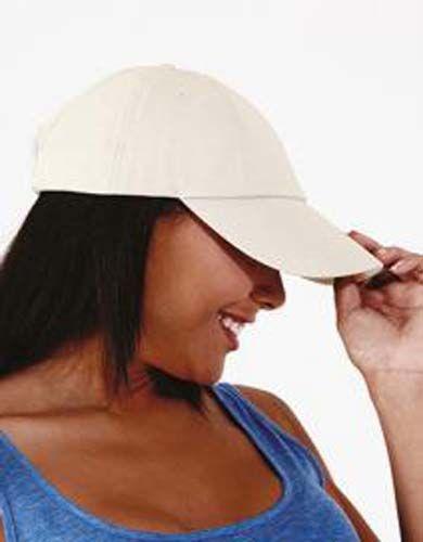 Gorra de perfil bajo algodón drill grueso - Seis paneles