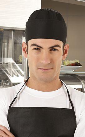 Gorros de cocina valento bower con logo imagen 1