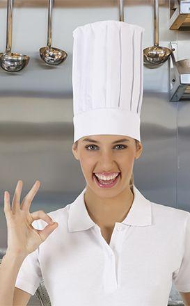 Gorros de cocina valento cordon con impresión imagen 1