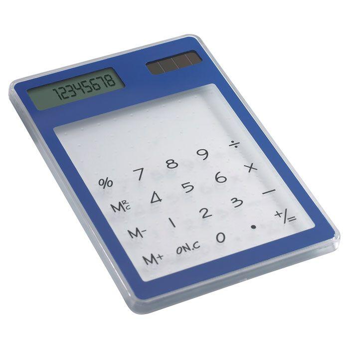 Calculadoras clearal de plástico para personalizar imagen 2