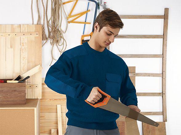 Ropa térmica para trabajar valento jersey valento comando de acrílico con publicidad imagen 1