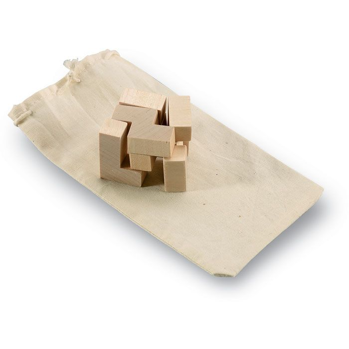 Juguetes y puzzles trikesnats puzzle de madera en bolsa de madera para personalizar imagen 1