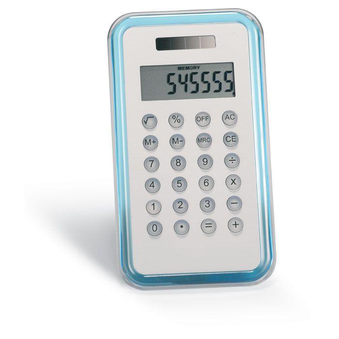 Calculadoras culca de plástico vista 1