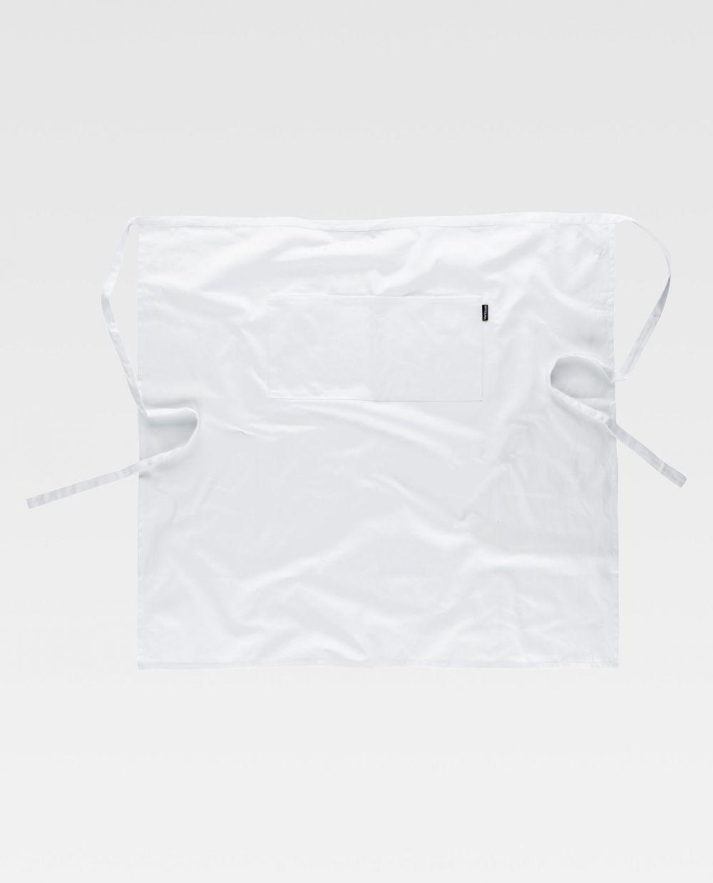 Delantales de hostelería workteam m205 de 100% algodón vista 2