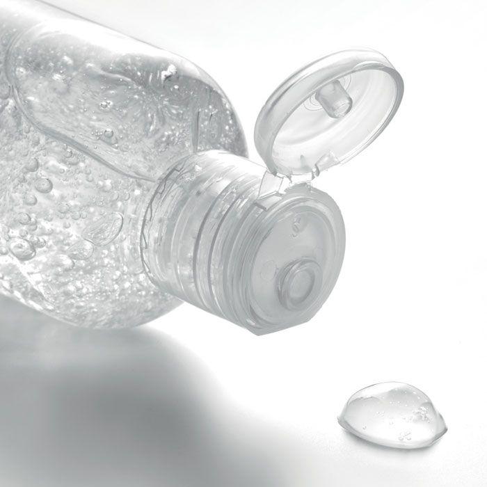 Gel alcohol gel 100ml de varios materiales con logo vista 1