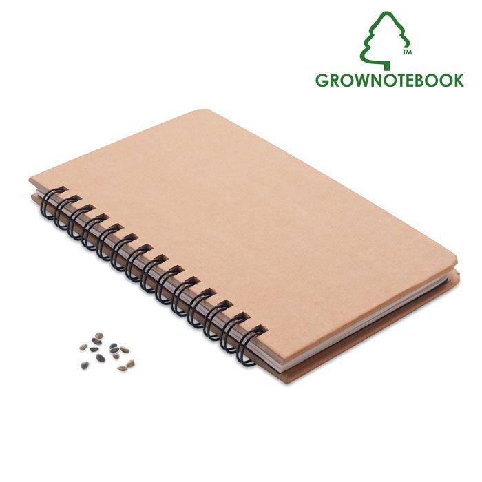 GROWNOTEBOOK™ Libreta pino