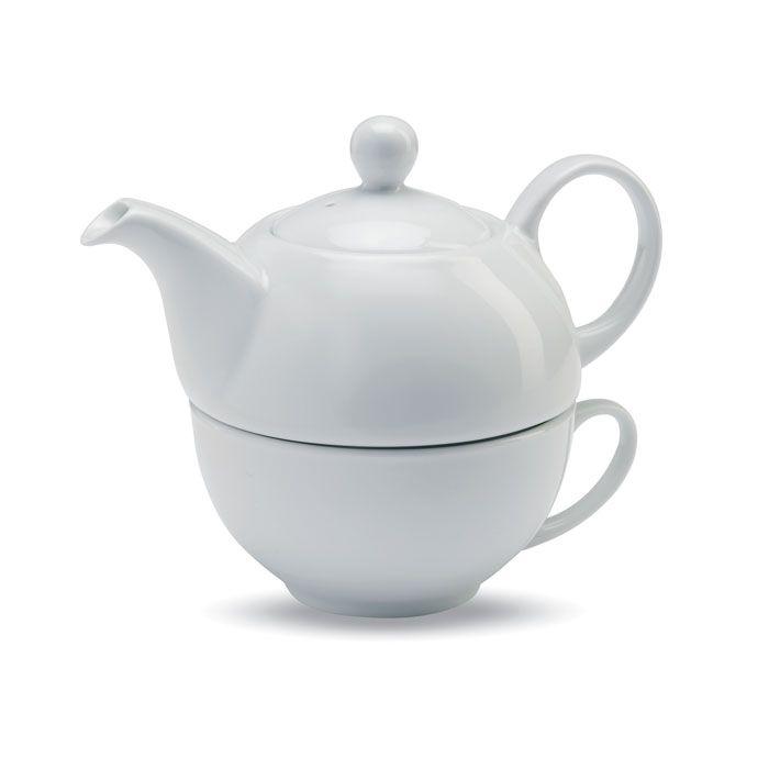 Tazas publicitarias tea de cerámica con impresión imagen 1