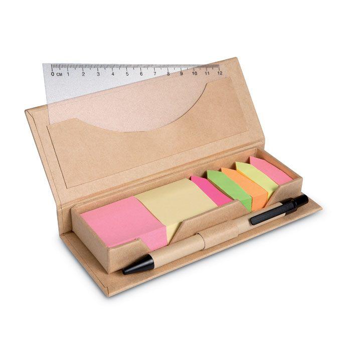 Notas adhesivas stibox de papel vista 1