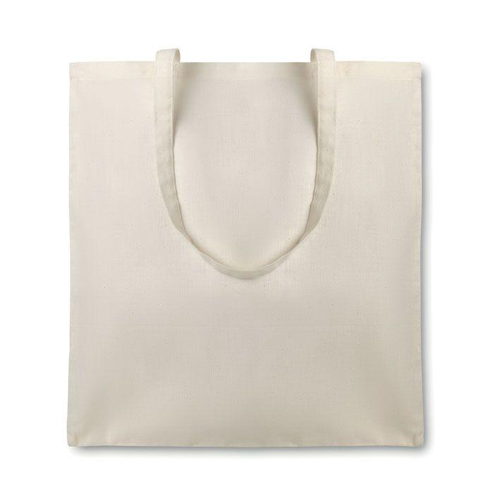 Regalos ecologicos organic cottonel bolsa algodón orgánico 105 gr de 100% algodón ecológico con logo imagen 2