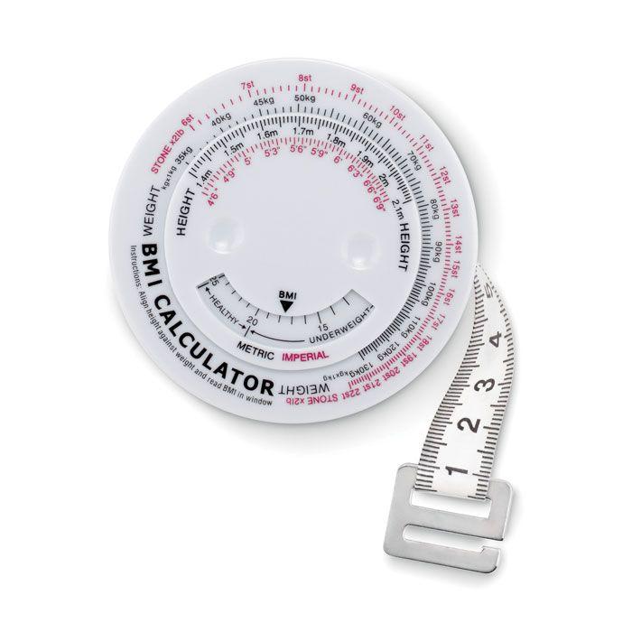 Metros y reglas measure it cinta métrica para imc de plástico para personalizar imagen 1