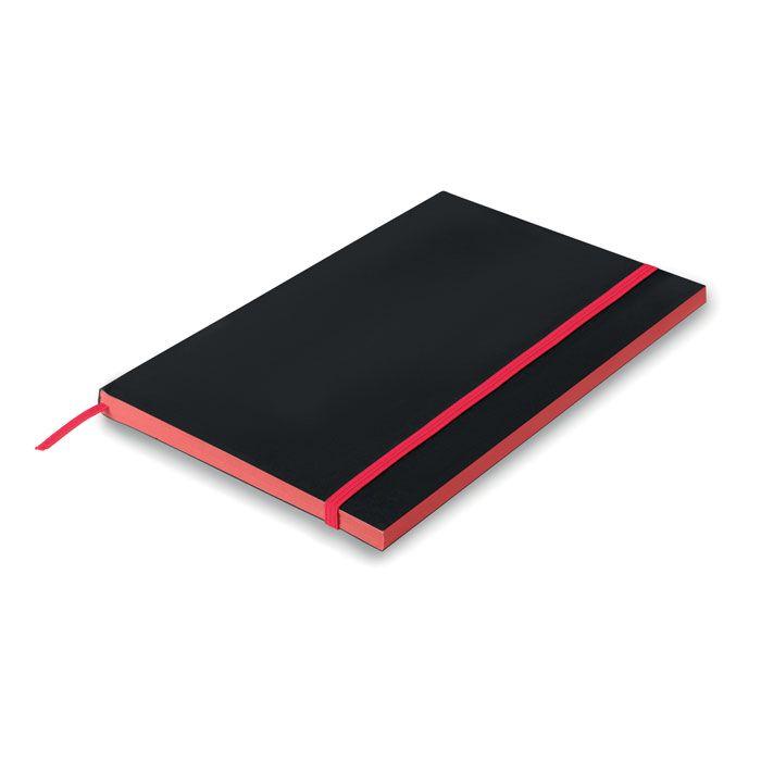 BLACK NOTE Libreta A5 con tapa de papel.