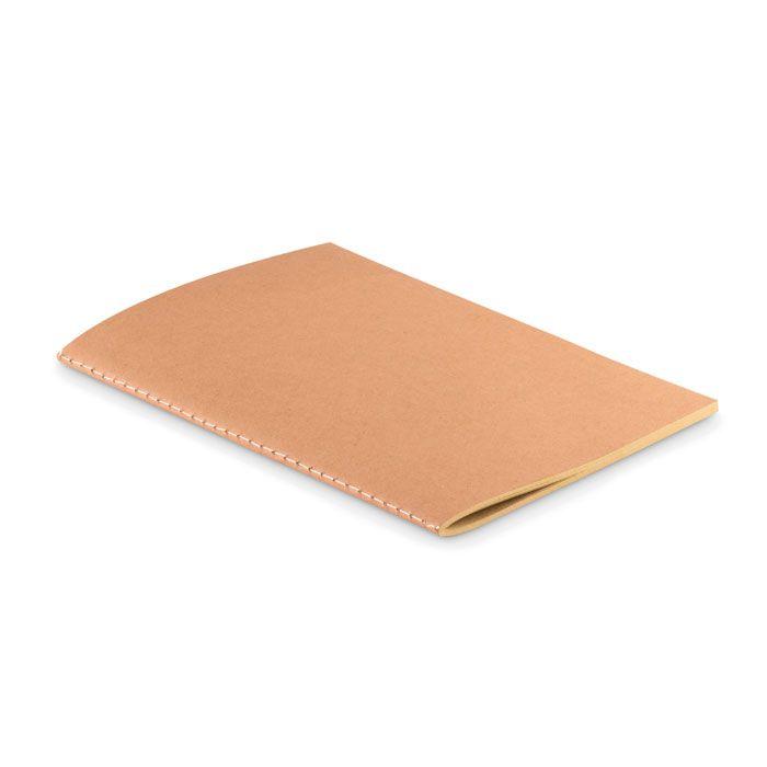 Libretas sin anillas mid de papel ecológico para personalizar vista 1
