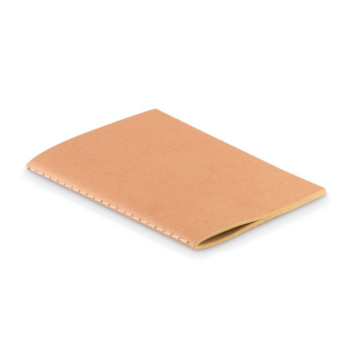 Libretas sin anillas mini a6 de papel ecológico con impresión vista 1