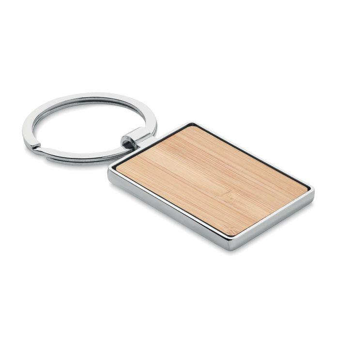 BENDIGO Llavero rectangular y bambú