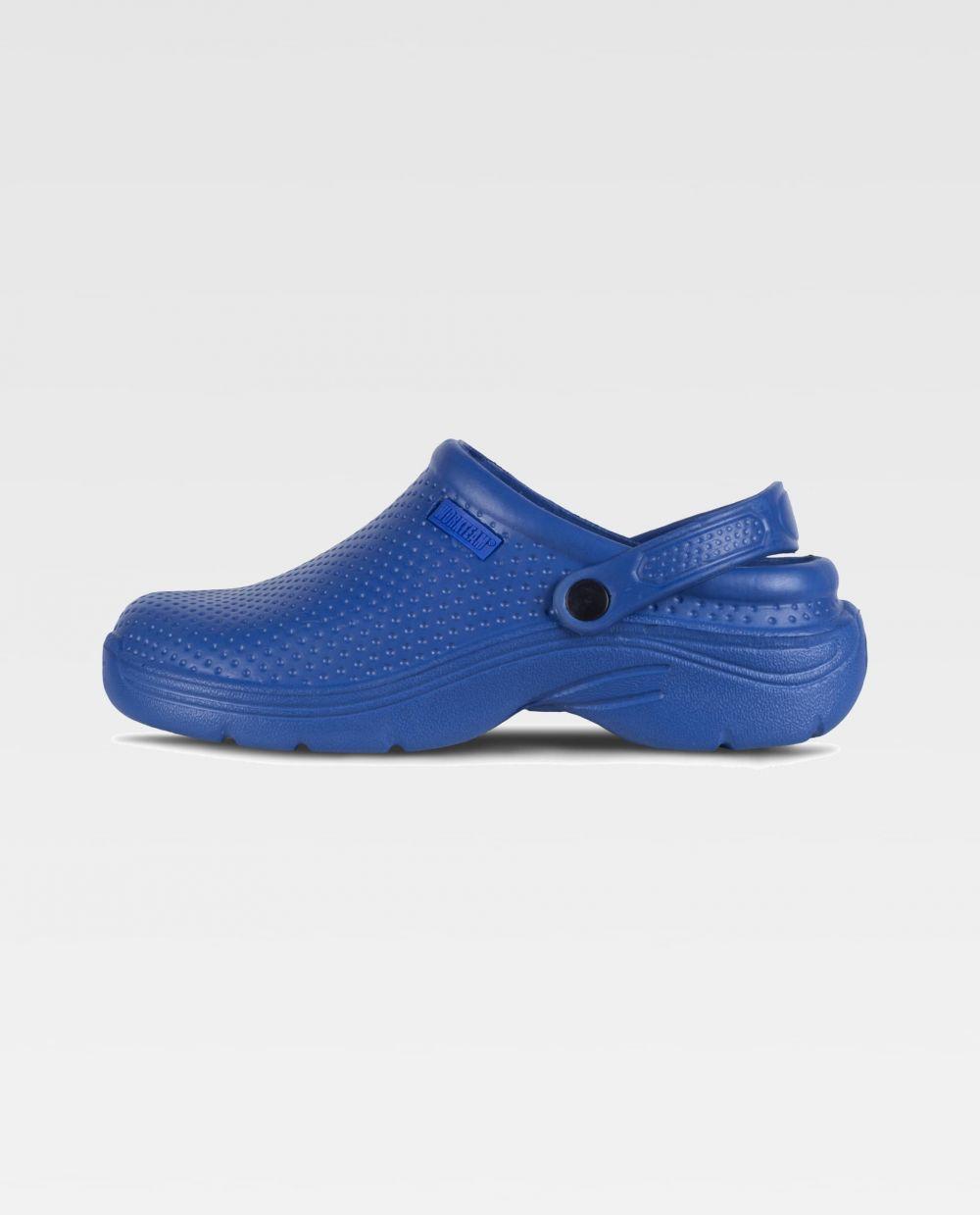 Zapatos de trabajo workteam zueco p2006 de eva con logo vista 1