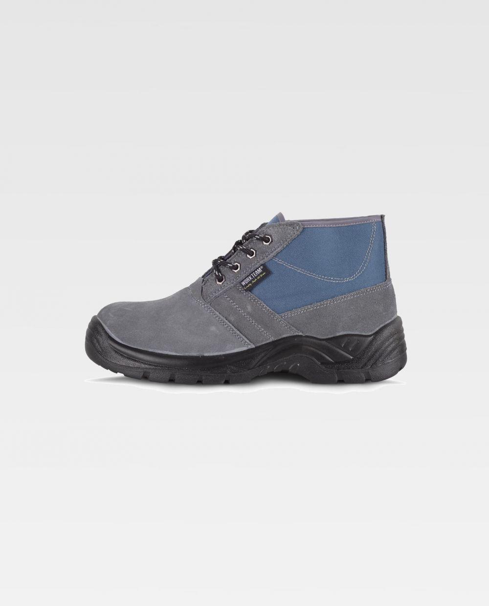 Zapatos de trabajo workteam bota p2601 de piel vista 1