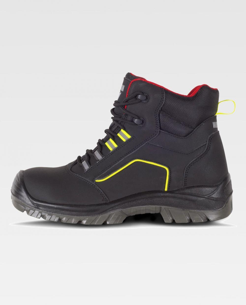 Zapatos de trabajo workteam bota p2901 de piel vista 1