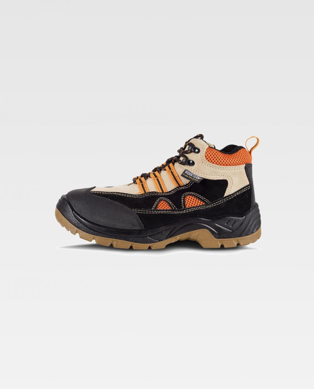 Zapatos de trabajo workteam bota p3001 de piel con logo vista 1