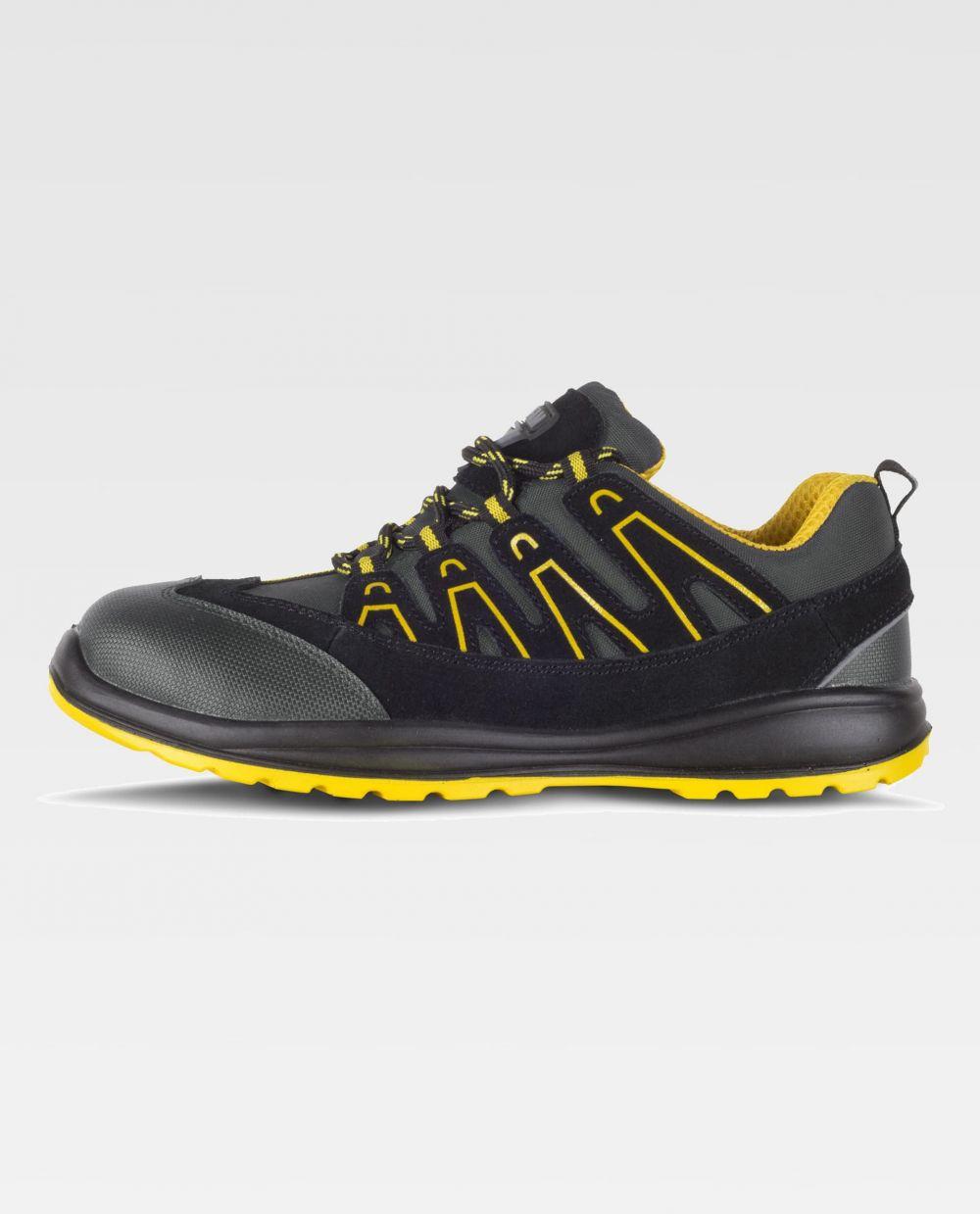 Zapatos de trabajo workteam zapatilla p3012 de microfibra vista 1