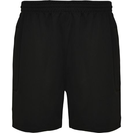 Equipaciones deportivas roly pantalón corto deneb de niño de poliéster con publicidad vista 1