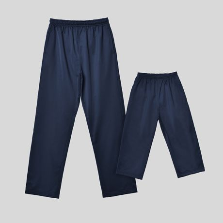 Pantalones técnicos roly corinto niño de poliéster con logo imagen 1