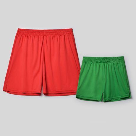 Pantalones roly calcio de poliéster con publicidad vista 1