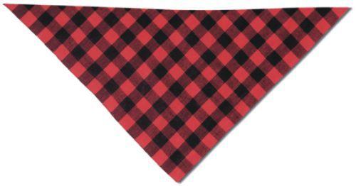 Cachirulos cachirulo rojo y negro 70x100 de algodon para publicidad vista 1
