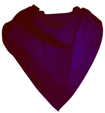 Pañuelos lisos cuadrado popelín 52x52 de poliéster con publicidad imagen 1