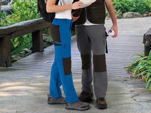 Material trekking valento pantalon trekking dator con publicidad imagen 1