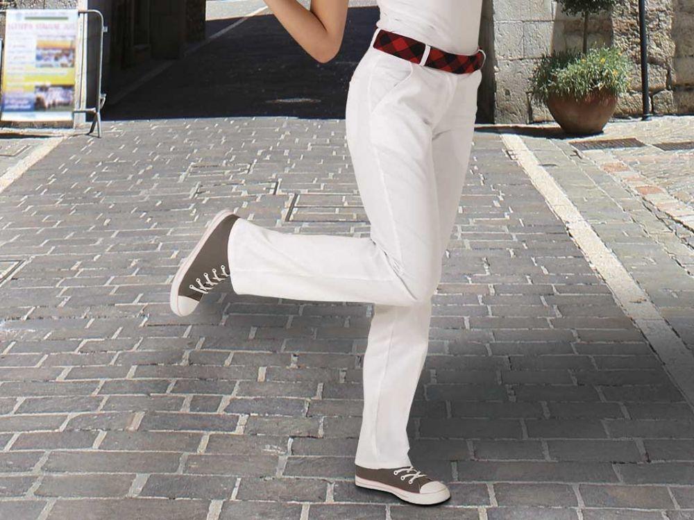 Pantalones peñas valento pasacalles con publicidad vista 1