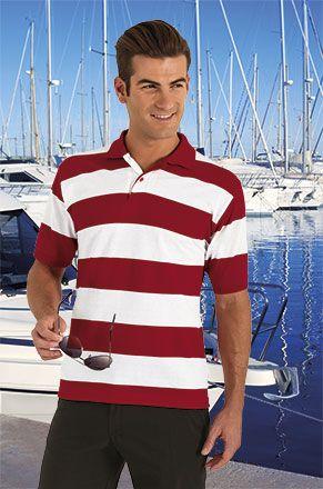 Polos manga corta valento nautical de algodon vista 1