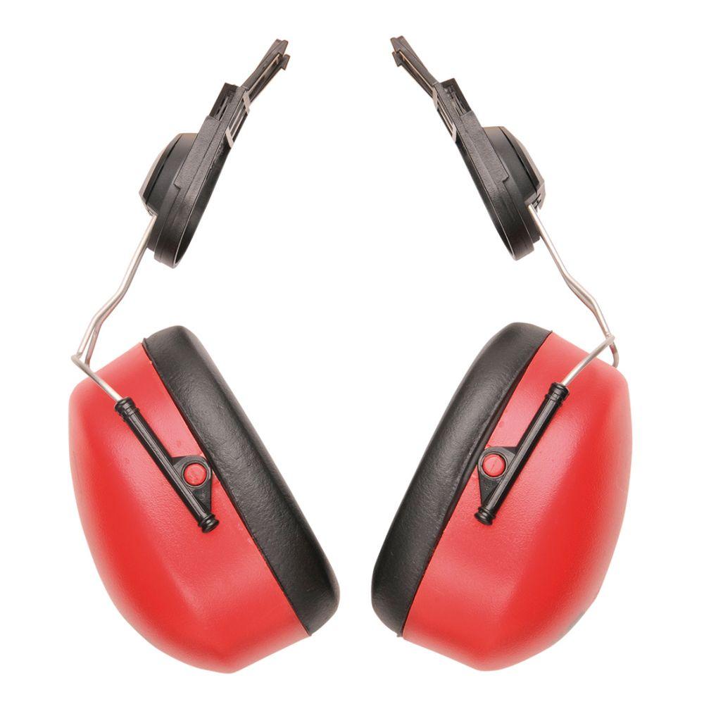 Protectores auditivos auditivo endurance clip on con impresión vista 1