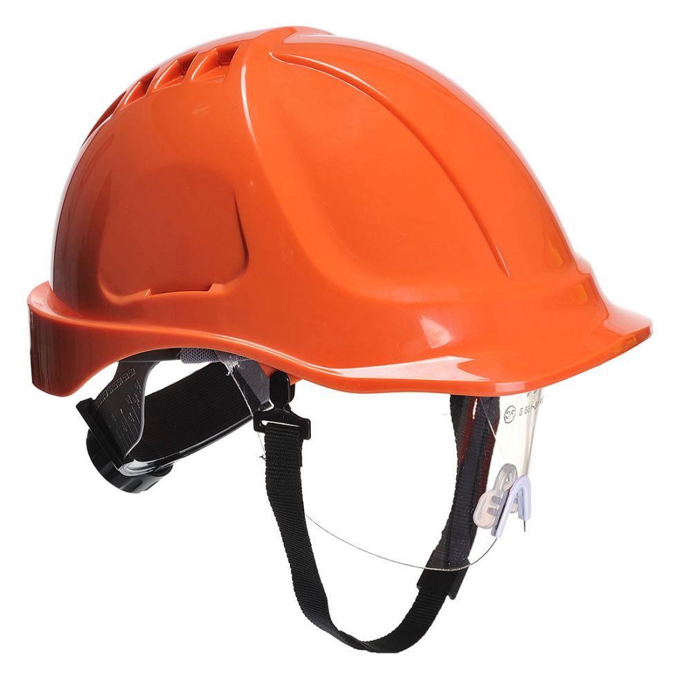 Pis casco endurance plus visor con logo vista 1