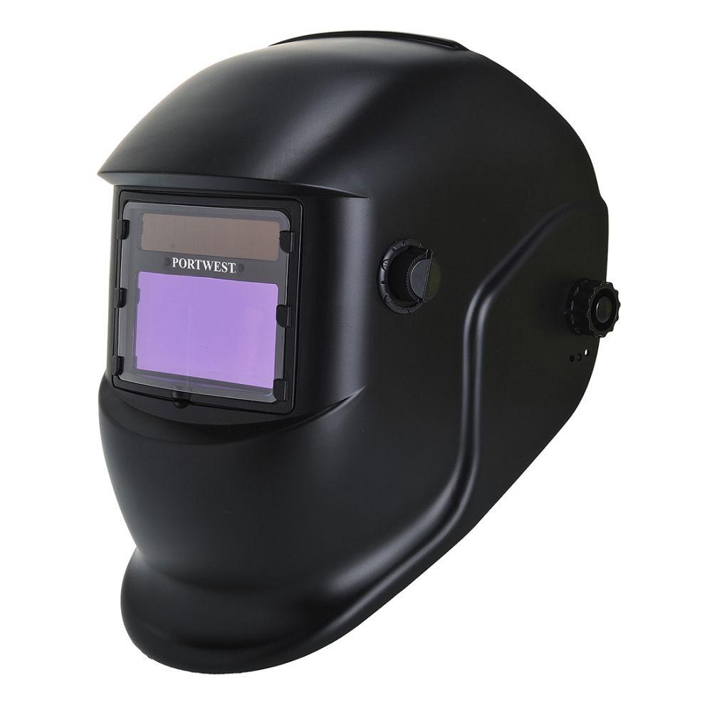 Pis casco de soldadura bizweld plus con logo vista 1