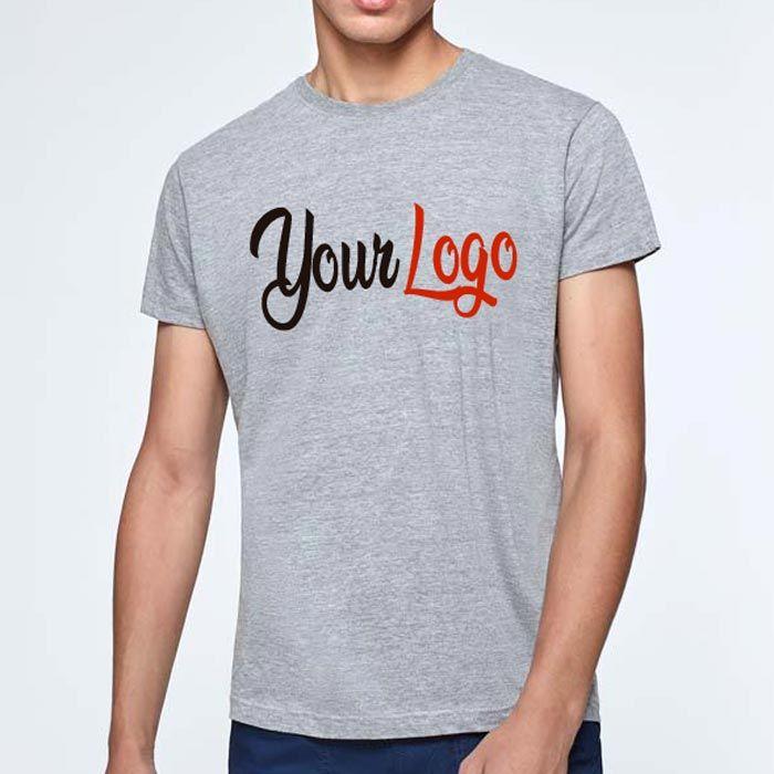 Camisetas manga corta roly atomic 150 de 100% algodón con publicidad vista 2