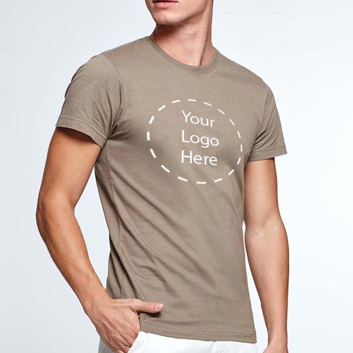 Camisetas manga corta roly dogo premium de 100% algodón con publicidad vista 2
