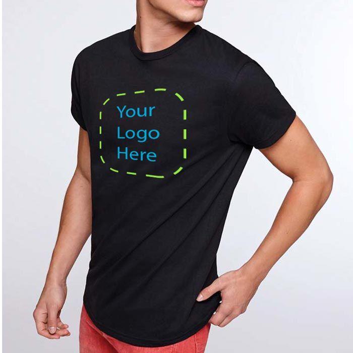 Camisetas manga corta roly atomic 180 de 100% algodón con impresión vista 1