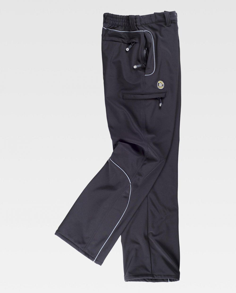 Pantalones de trabajo workteam s9810 de algodon con impresión vista 2