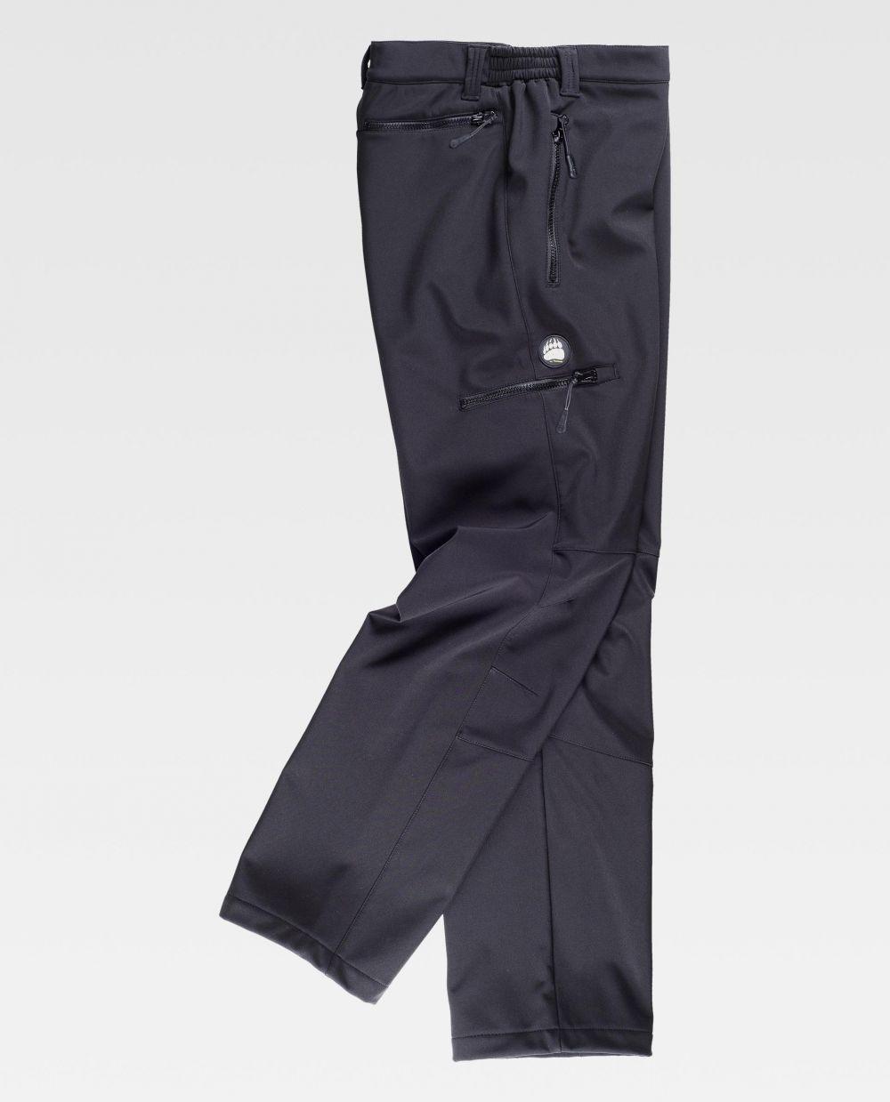 Pantalones de trabajo workteam s9830 de algodon con impresión vista 2