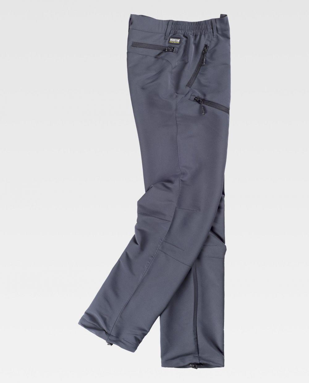 Pantalones de trabajo workteam s9850 de algodon vista 2