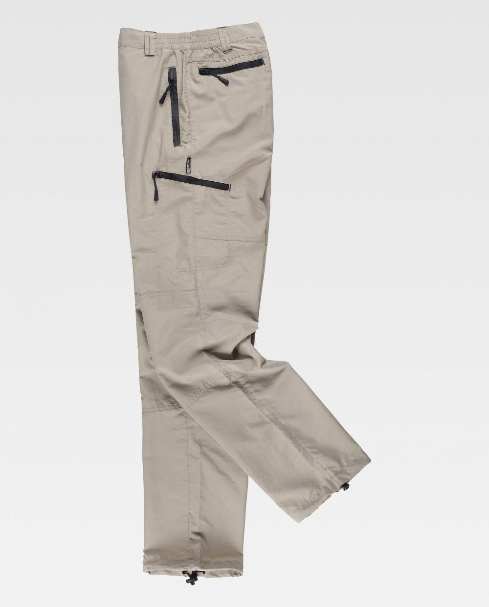 Pantalones de trabajo workteam s9860 de poliéster vista 2