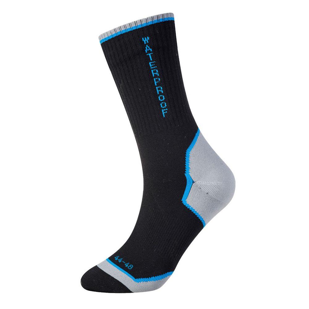 Complementos de industria calcetices impermeables con publicidad vista 1
