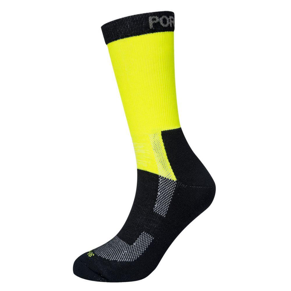 Complementos de industria calcetín ligero de alta visibilidad vista 1