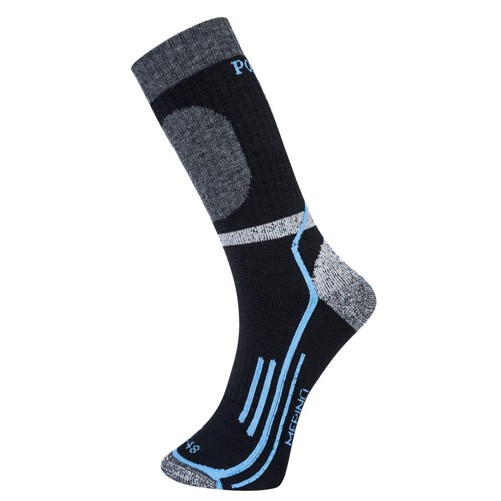 Complementos de industria calcetín winter merino con logo vista 1