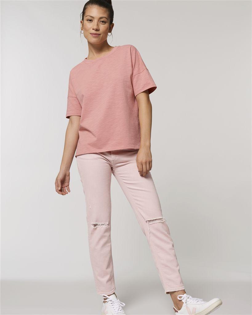 Camisetas manga corta stanley stella hipster slub ecológico para personalizar vista 1