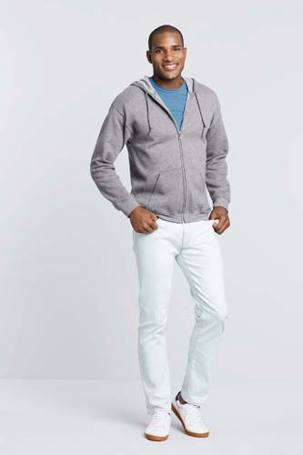 Sudadera Heavy Blend™ capucha y cremallera hombre