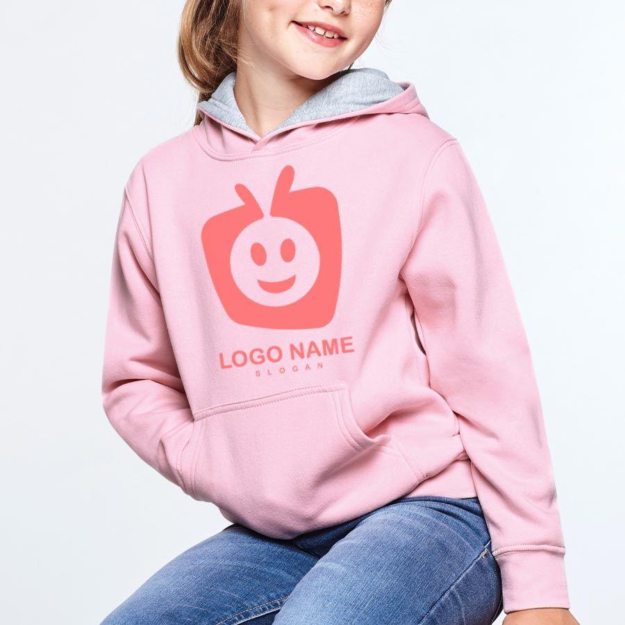 Sudaderas capucha roly urban niño de algodon para personalizar vista 1