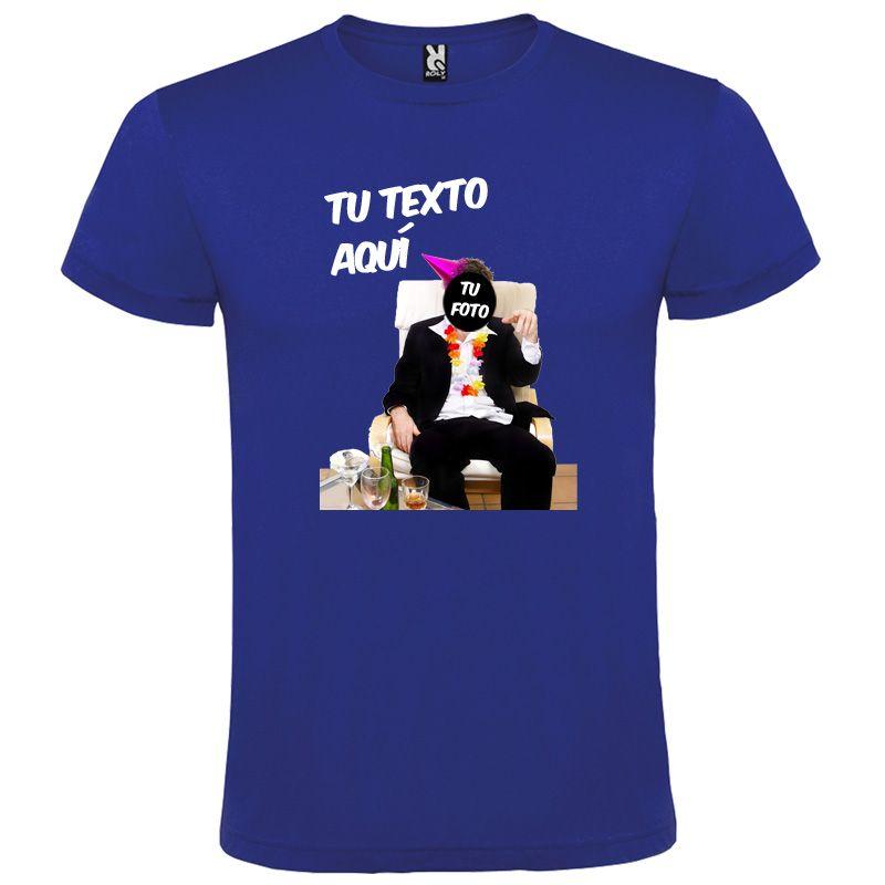 Camisetas despedida hombre para fiestas con diseño de borracho sin fondo 100% algodón vista 1