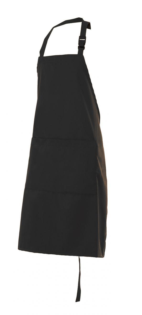 Delantales de hostelería velilla peto con bolsillo 210 gr de algodon vista 1