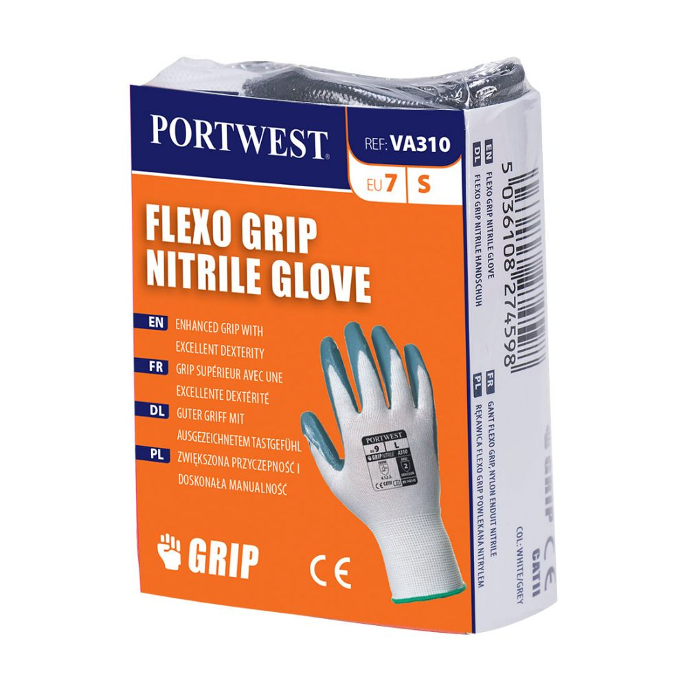 Guante de Nitrilo Flexo Grip (Vending)